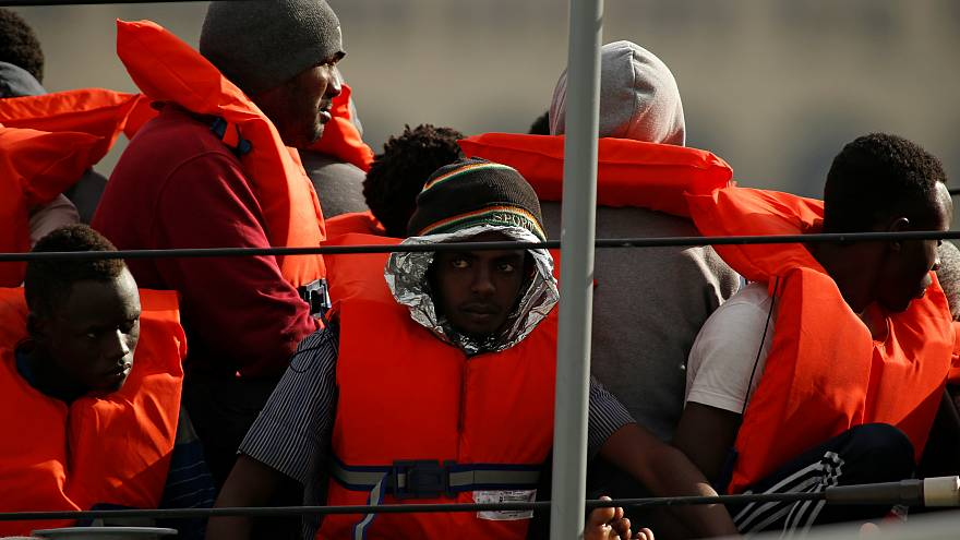 مهاجرون غير شرعيين أنقذتهم مالطا من الغرق