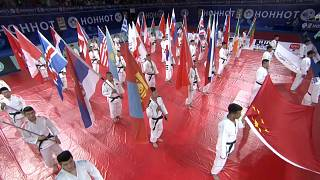 Explosive judo on Day 2 of Hohhot Grand Prix, Japan tops medals table