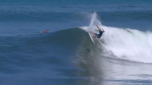 Surfing Bali Stephanie Gilmore and Kanoa Igarashi win in Bali