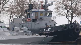 Russia ordered to release detained Ukrainian sailors by maritime tribunal