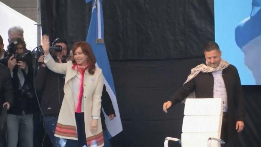 Visszatért a politikába Cristina Kirchner