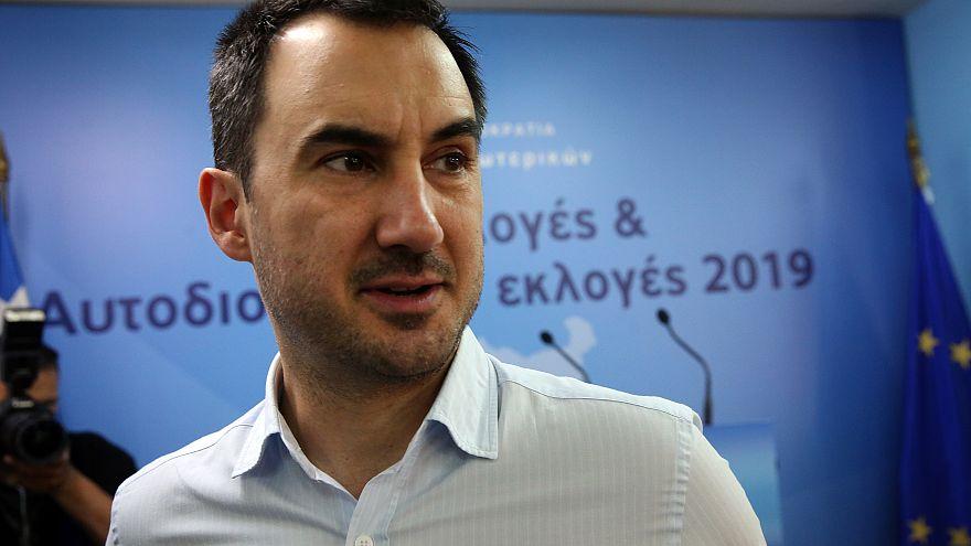 Ο υπουργός Εσωτερικών, Αλέξης Χαρίτσης