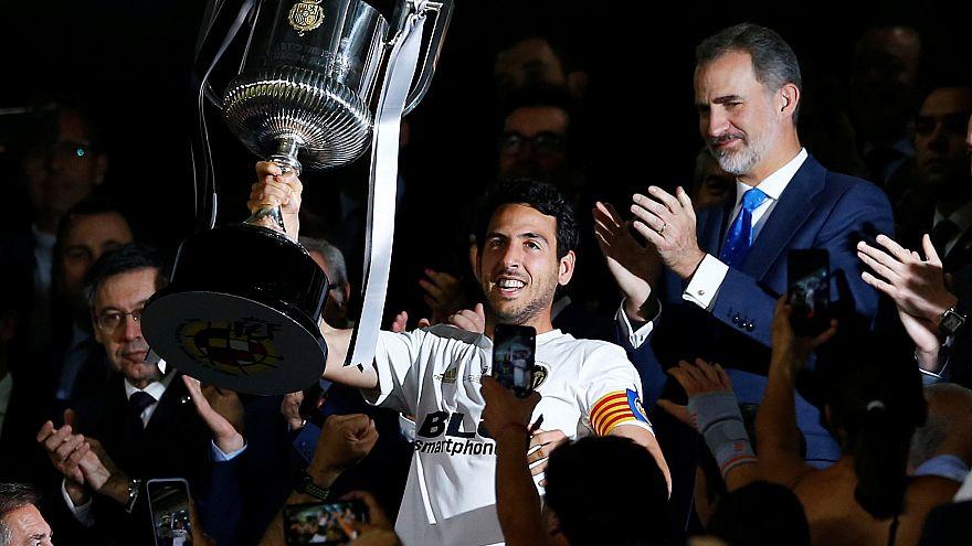 El Valencia destrona al Barça, que se queda sin doblete