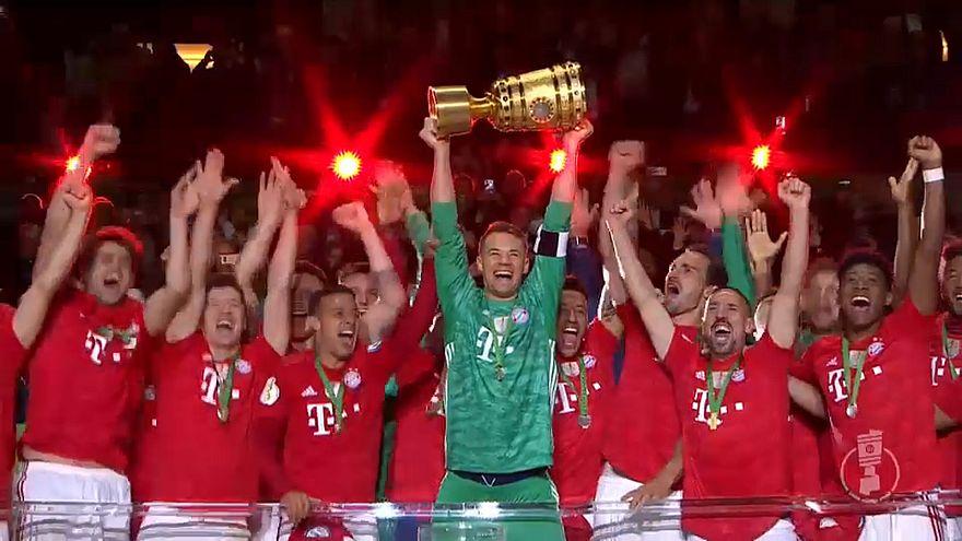 Calcio: il Bayern Monaco vince la Coppa di Germania