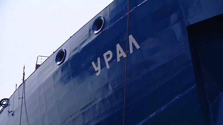 شاهد: روسيا تدشن كاسحة جليد جديدة تعمل بالطاقة النووية