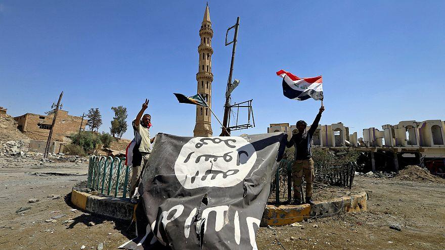 علم داعش في العراق