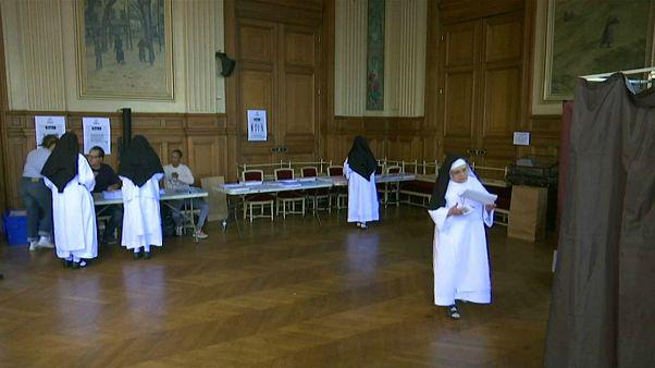شرکت راهبههای فرانسوی در انتخابات پارلمان اروپا