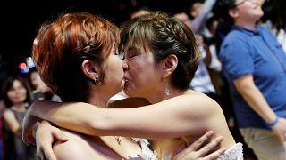 Primeras bodas homosexuales en Taiwán