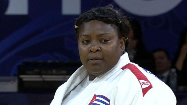 Hohhot Judo Grand Prix nefes kesen maçlarla sona erdi