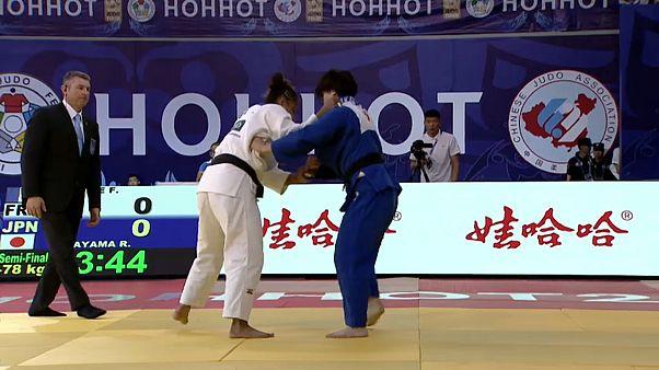 Judo Grand Prix Hohhot: Anna Maria Wagner gewinnt Silber