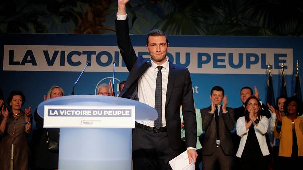 Jordan Bardellam, the top candidate for Le Pen's National Rally party