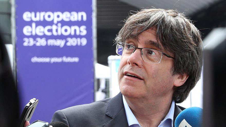 Primer revés para Puigdemont en la Eurocámara