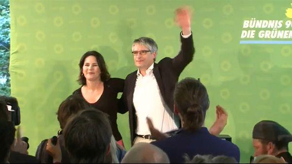 Grande festa per i Verdi tedeschi: sono il secondo partito in Germania.