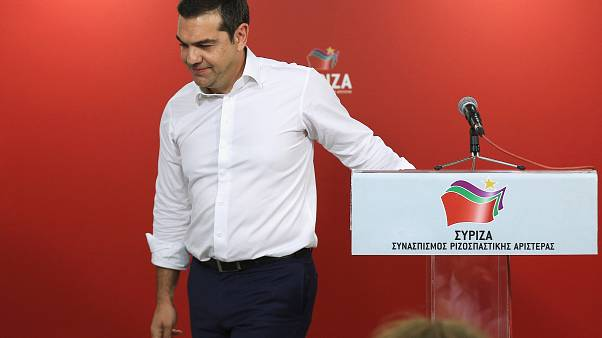 Greek Prime Minister Alexis Tsipras,  May 26, 2019.