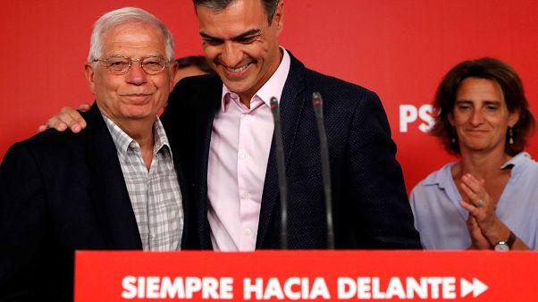 Triplete socialista en el macrodomingo electoral de España