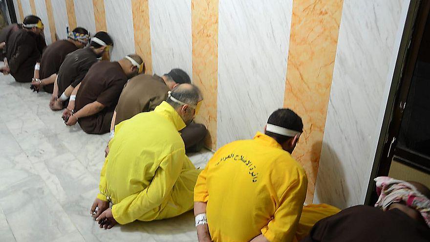 عدد من عناصر داعش محكوم عليهم بالإعدام حسب وزارة العدل العراقية حزيران 2018
