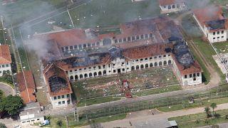 صورة جوية لأحد مراكز التأهيل في البرازيل