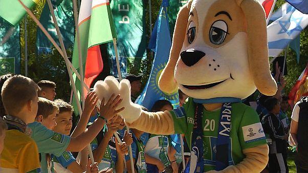 آغاز رقابتهای دوستانه نوجوانان ۶۰ کشور جهان در مادرید اسپانیا