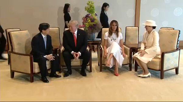 Trump reforça relações bilaterais com o Japão