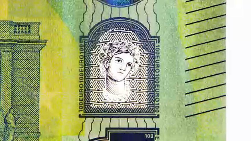 Látványos biztonsági jelek az eurón