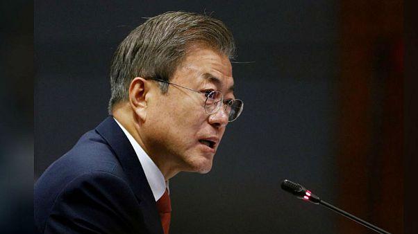 اعتراض به رئیس جمهور کره جنوبی برای «مدارا با کره شمالی»