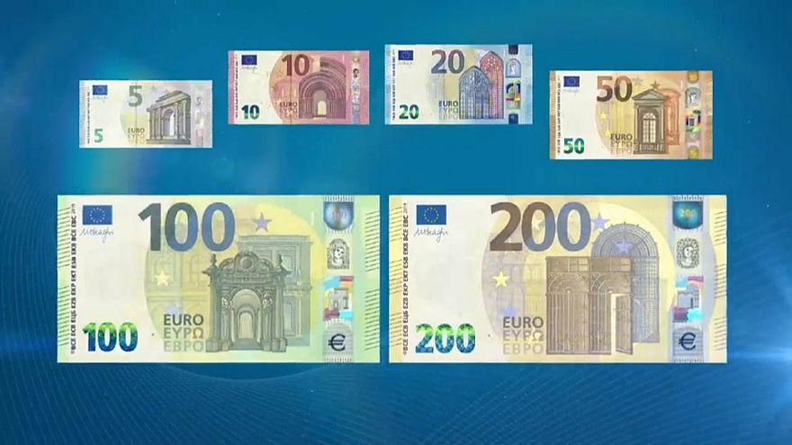 Новые банкноты евро