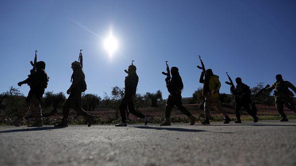 مقاتلون مدعومون من تركيا في سوريا