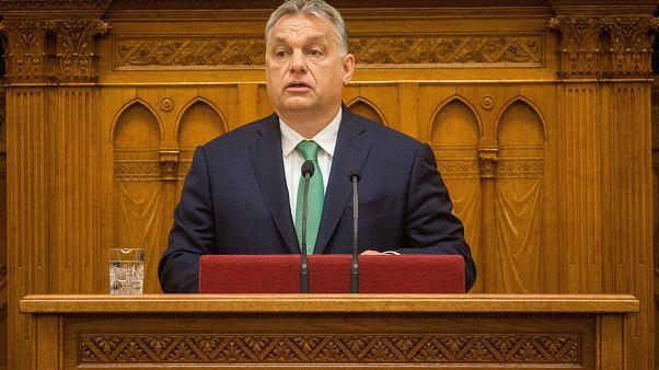 Orbán jövőbeni szövetségesekről beszélt a parlamentben