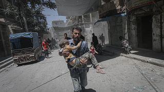 Esad rejiminin İdlib saldırılarına ABD'den tepki: Şiddeti pervasızca kızıştırıyorlar