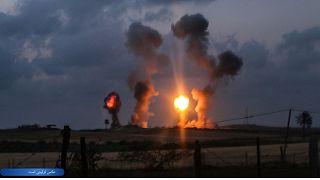 حمله هوایی اسرائیل به قنیطره سوریه چندین زخمی برجای گذاشت