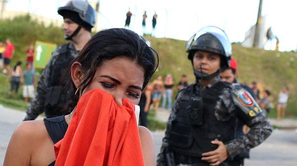 Brezilya'da cezaevinde isyan: 2 gün içerisinde en az 55 mahkum hayatını kaybetti