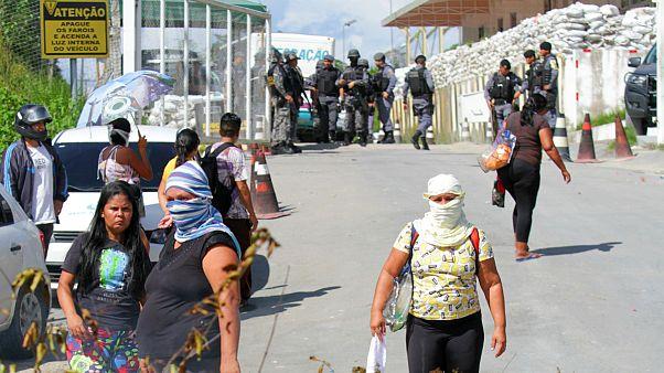 خشونت در زندان های برزیل؛ ۵۵ زندانی طی دو روز جان باختند