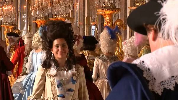 Wie bei Marie-Antoinette: Kostümball in Versailles