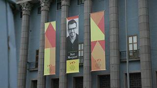 Bart Moeyaert nimmt Astrid-Lindgren-Preis entgegen