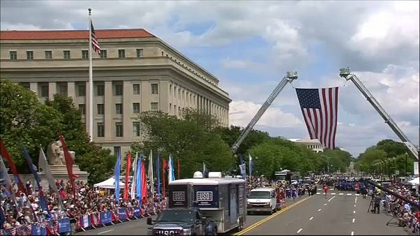 National Memorial Day parade held in Washington