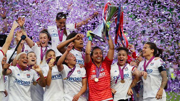 El Olímpico de Lyon gana la final de la Champions League. Hungría (2019).