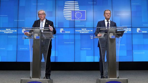 Current Commission President Juncker and Council President Tusk