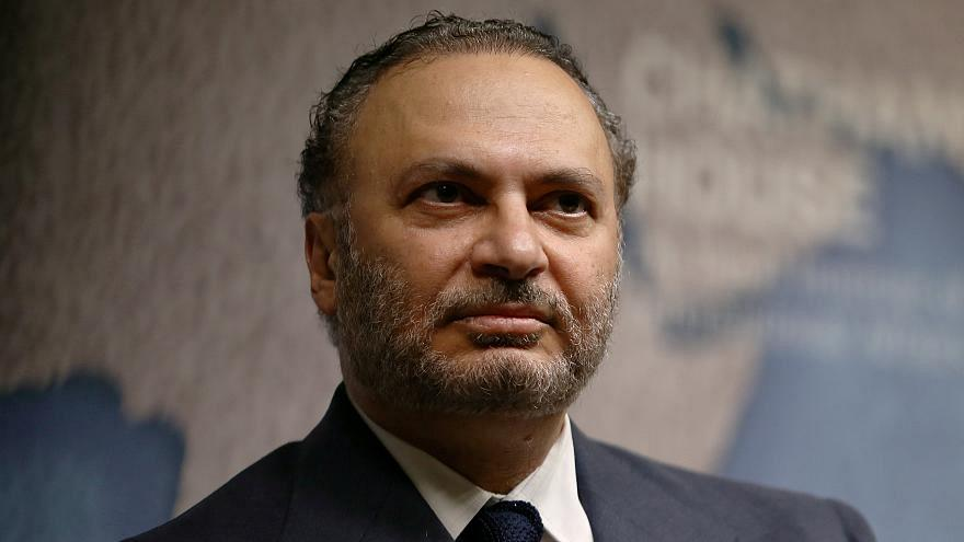 أنور قرقاش - وزير الدولة الإماراتية للشؤون الخارجية