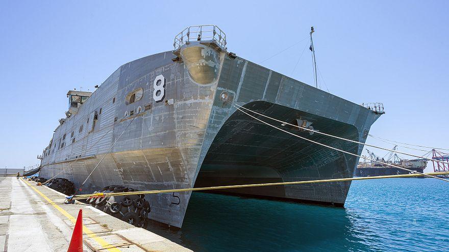 Στην Κύπρο το αμερικανικό πλοίο του πολεμικού ναυτικού USNS Yuma