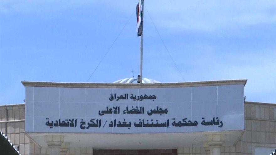 Todesstrafe für 6 französische IS-Kämpfer im Irak