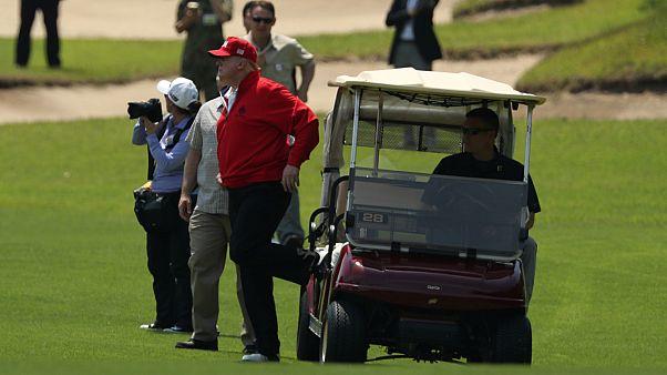 دونالد ترامب يُكلف دافعي الضرائب 102 مليون دولار والسبب رياضة الغولف