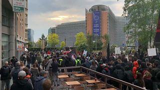Contre le fascisme en Europe, mobilisation à Bruxelles