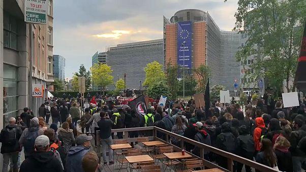 Bruxelles: 4mila manifestanti contro l'avanzata dell'estrema destra