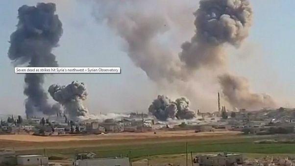 """Siria: offensiva militare su Idlib, l'allarme dell'Onu: """"Catastrofe umanitaria"""""""