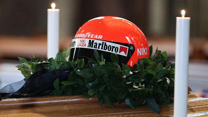 Les funérailles de Niki Lauda, ex-champion autrichien de F1