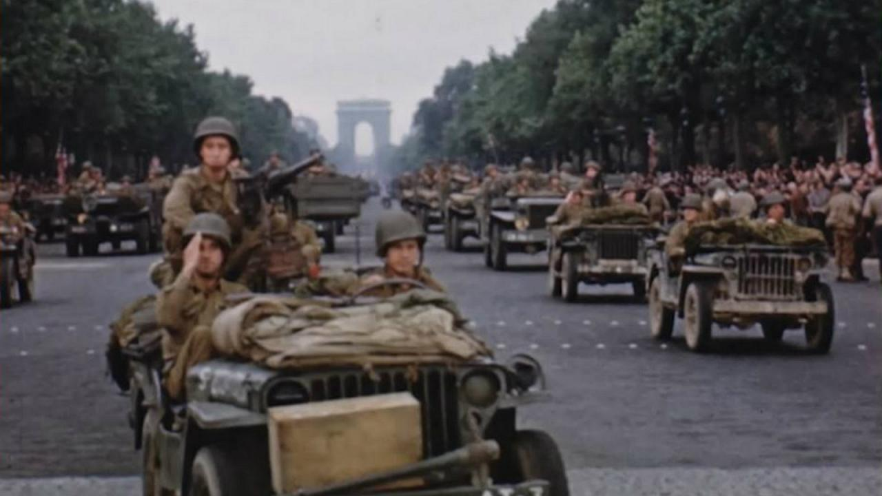 آرشیو نادر فیلمهای رنگی جرج استیونز از جنگ جهانی دوم