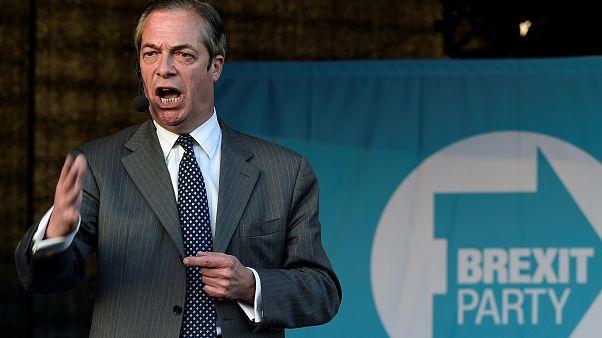 Brexit Partisi lideri Nigel Farage
