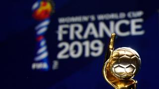The trophy of the 2019 FIFA Women World Cup