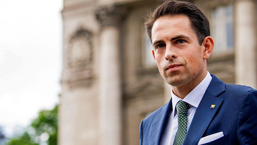 Ο επικεφαλής του ακροδεξιού κόμματος Vlaams Belang, Τομ Βαν Γκρίγκεν