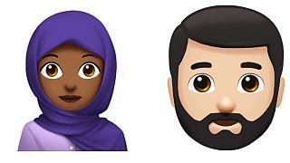Frauen mit Hidschab gibt es bereits als Emoji - bald auch Männer mit Kippa?